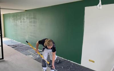 Meer kleur in huis: wandschilderwerk